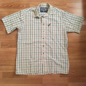Ecko Unltd Plaid Button Down Shirt - XL